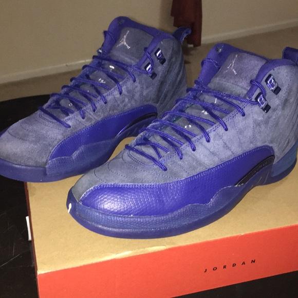 quality design e2b0f 63e15 Jordan deep blue 12s